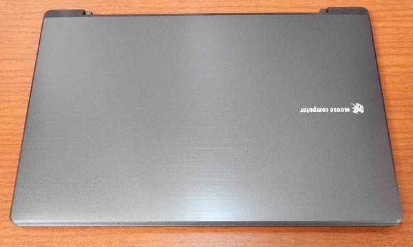 LB-F531XN-SSDの保護フィルムを取った状態