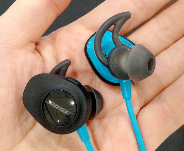 SoundSport wireless headphonesの表側のデザイン