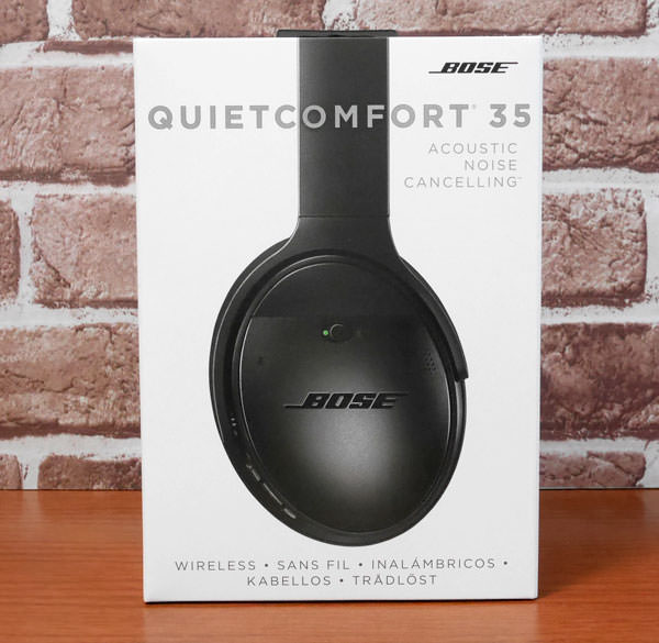 QuietComfort 35 wireless headphones パッケージ画像