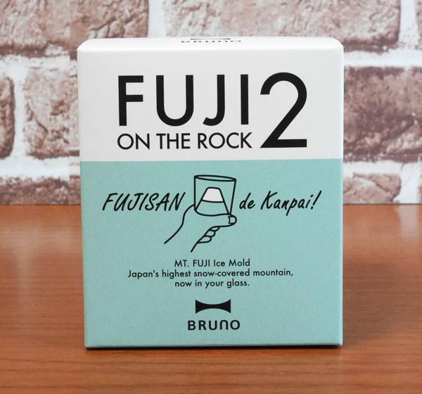 ブルーノ FUJI ON THE ROCK2 製氷器 パッケージ画像