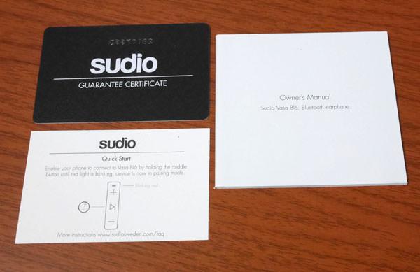 説明書と会員カード