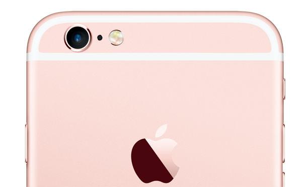 iPhone 6 Plus 背面のアンテナライン