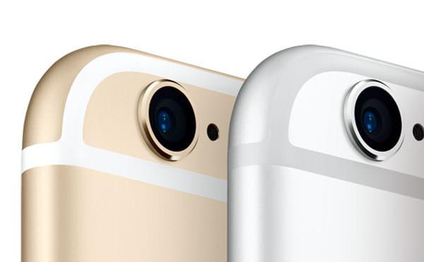 iPhone カメラ部分