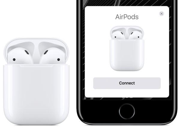 AirPods 接続画面