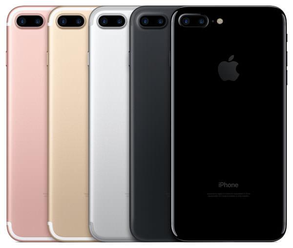 iPhone 7 Plus カラーバリエーション