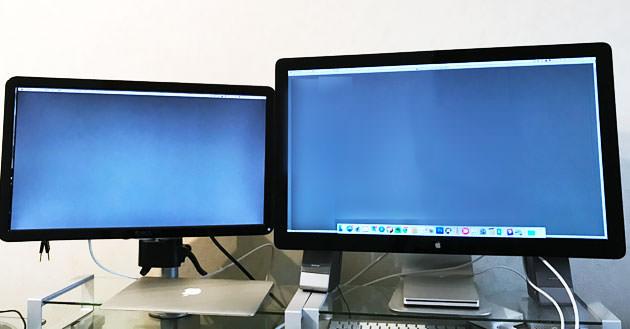 Macintoshをマルチディスプレイ(デュアルモニター)にする設定方法 タイトル画像