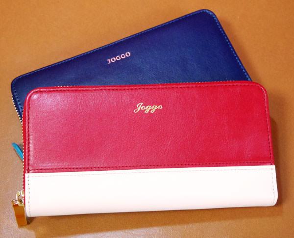 女性用ラウンドファスナー財布