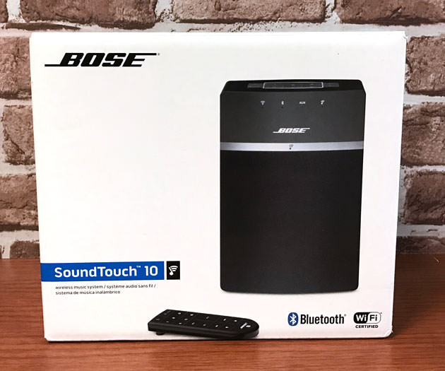 Bose SoundTouch 10 wireless music system パッケージ画像