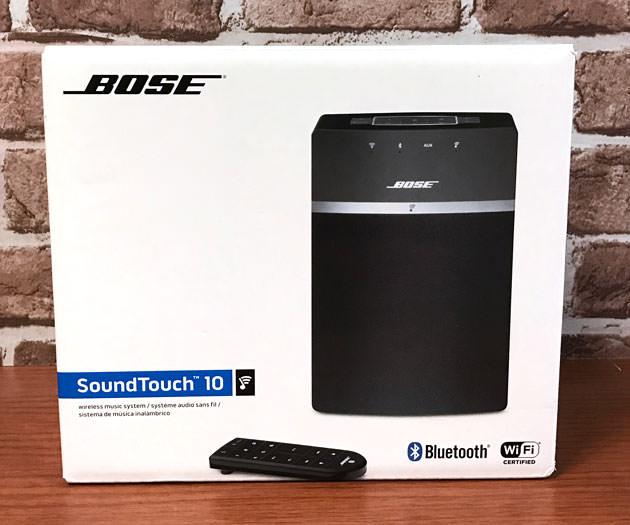 Bose SoundTouch 10 wireless music system パッケージ画像