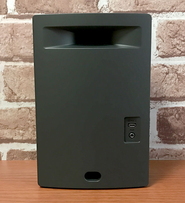Bose SoundTouch 10 wireless music system  本体背面