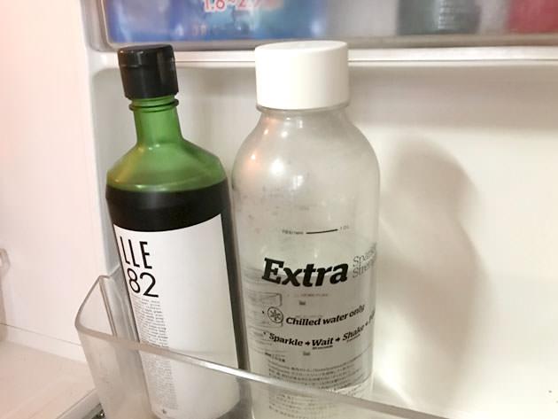 冷蔵庫で保管している様子