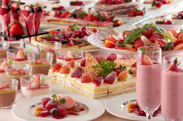 横浜ベイシェラトン ホテル&タワーズ アフタヌーンスイーツブッフェ~Strawberry Fair~