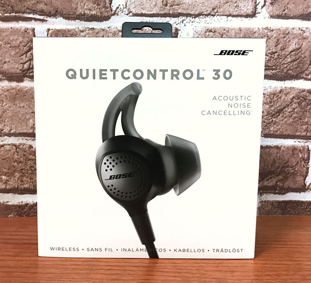 Bose QuietControl 30 Wireless Headphones パッケージ画像