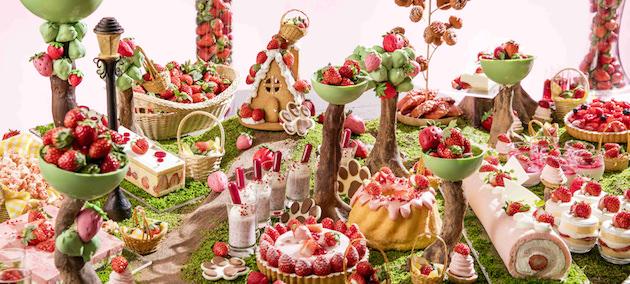 ヒルトン東京お台場 「Strawberry Forest~いちごの香りに包まれて」