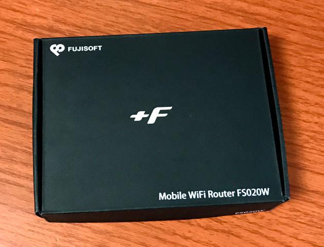 スマモバ 富士ソフト+F FS020W パッケージ画像