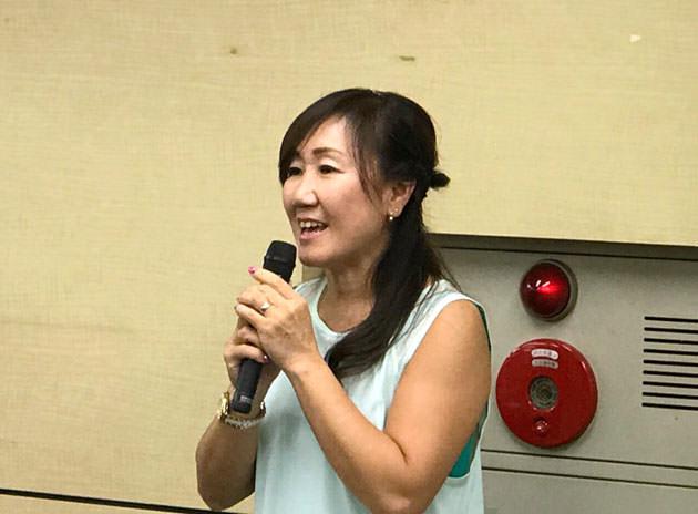 ゲストのナチュラルボディトレーナー佐藤一美さん