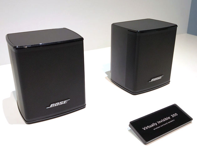 BOSE Virtually Invisible 300 rear surround speakers製品画像