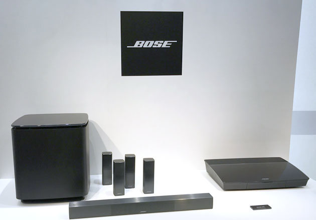 BOSE Lifestyle 650 system 全体画像