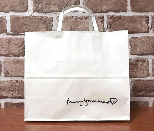 山本道子の店(村上開新堂)の手提げ袋