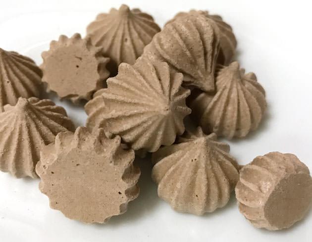 チョコレートメレンゲ ココア味で美味しい