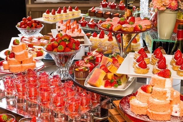 名鉄グランドホテル 【週末限定】 Sweets Buffet~苺フェア~
