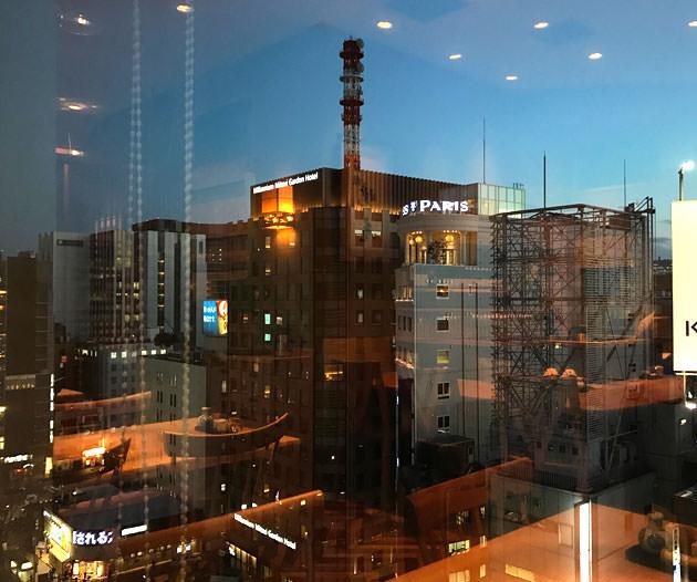 11階なので窓からの景色が良い