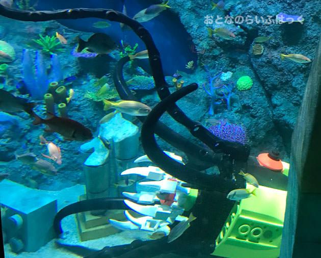 サブマリン・アドベンチャー 海底の様子