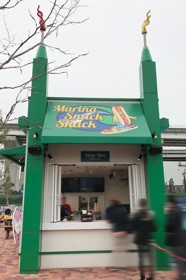 マリーナ・スナック・シャックの店構え