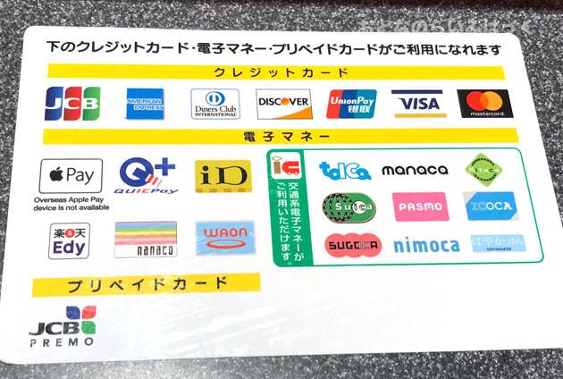 レゴランド・ジャパンで使用できるクレジットカードと電子マネー