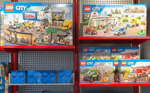 シティシリーズのレゴが売っている