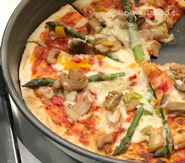 ピザ 野菜&キノコ