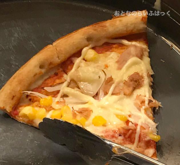 ピザ ツナ&コーン