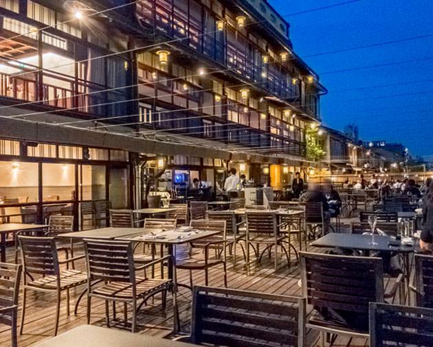 京都川床:FUNATSURU KYOTO KAMOGAWA RESORTのディナーがお薦め
