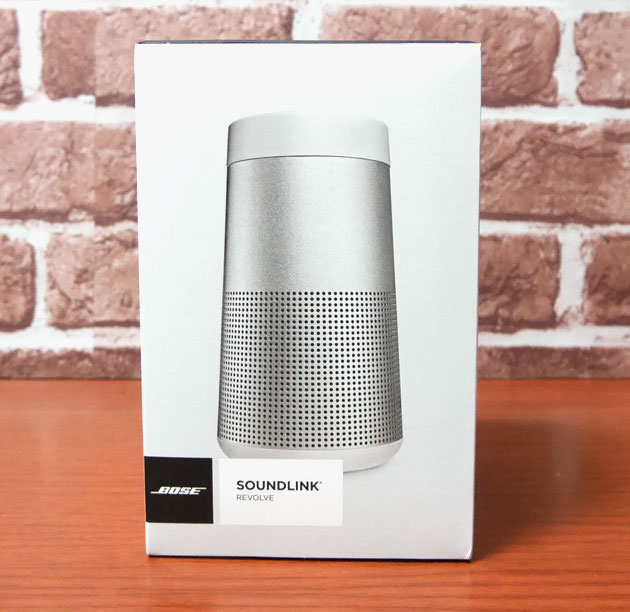 BOSE SoundLink Revolve Bluetooth speaker パッケージ画像