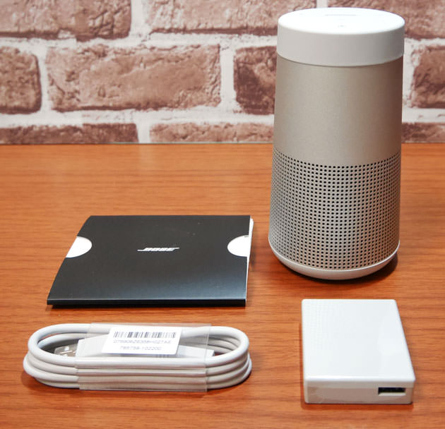 BOSE SoundLink Revolve Bluetooth speaker  同梱物一式