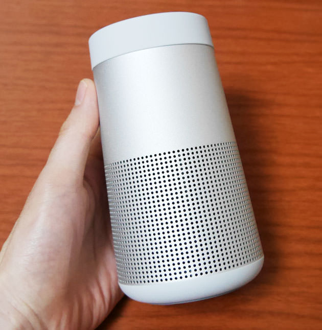 BOSE SoundLink Revolve Bluetooth speaker  本体大きさ
