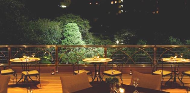 八芳園 スラッシュカフェ MOON BEER TERRACE(ムーンビアテラス)