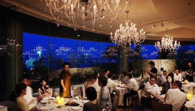 ホテルインターコンチネンタル 東京ベイ 緑と海のビアガーデン