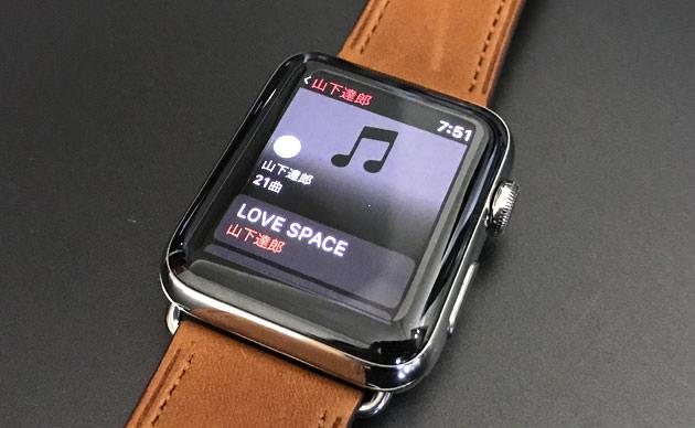AppleWatch:iPhoneを使わずに単体で音楽を聴く方法