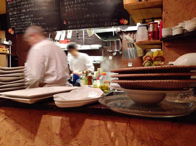 Bistrot La Cucina(ビストロ ラ クッチーナ)のオープンキッチン