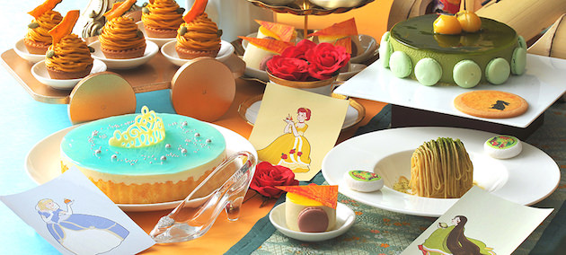 ヒルトン名古屋 コンセプト型デザートブッフェ「プリンセスのお気に入り」