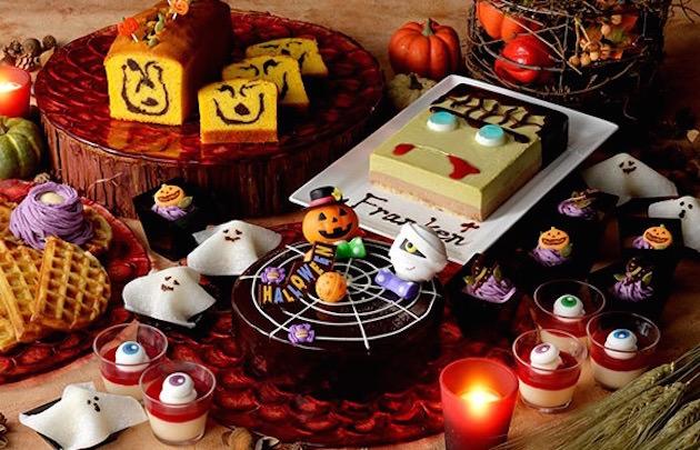 横浜ベイシェラトン ホテル&タワーズ ナイトスイーツブッフェ「Sweets Parade ~Halloween~」