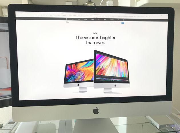 iMac 27インチ Retina 5Kディスプレイモデル
