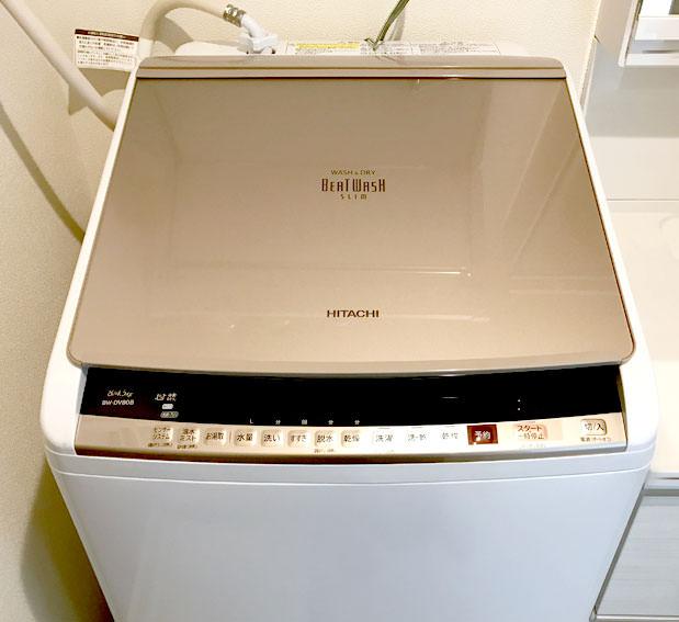 洗濯機「ビートウォッシュ BW-DV80B」