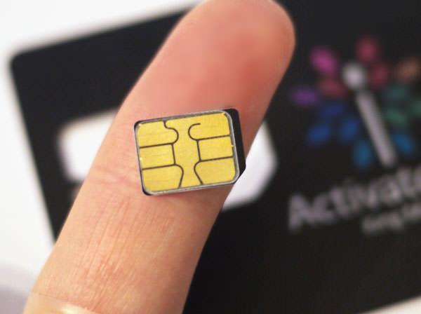 さらにSIMカード部分のみを切り出す