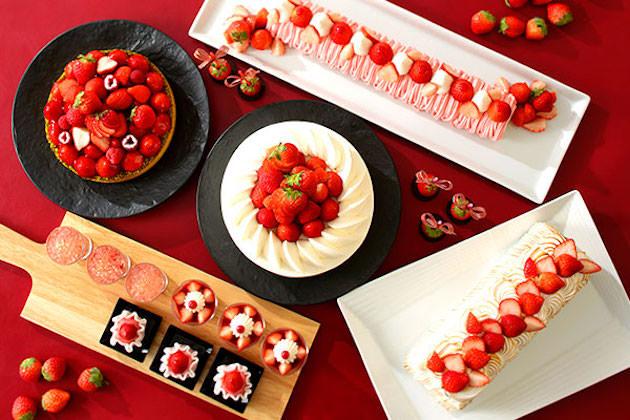 横浜ベイシェラトン ホテル&タワーズ ナイトスイーツブッフェ「Sweets Parade」~Strawberry〜
