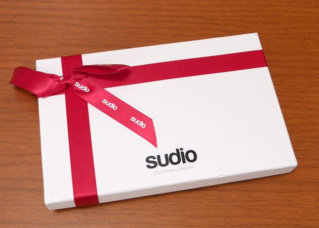オシャレなイヤホンのSudioがクリスマスギフトボックス無料キャンペーンを開催中