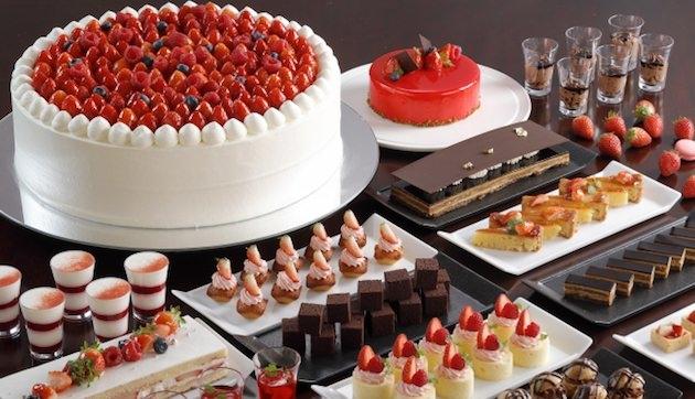 シェラトン都ホテル大阪  Strawberry×Chocolate Sweets Buffet ~いちごとショコラのマリアージュ~