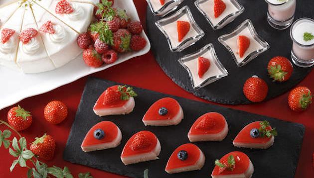 ウェスティン都ホテル京都 蟹といちごの紅福ビュッフェ