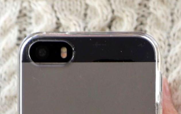スマートフォンのカメラ画像